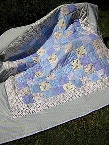 Úžitkový textil - fialková Provence - 6844369_