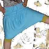 Nohavice - Turky - sukně bambus 3/4 - 4 barvy - 6843679_