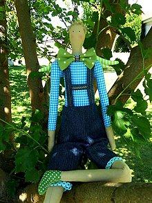 Bábiky - Sedím si na konári a vymýšľam..., anjel boy - 6844860_