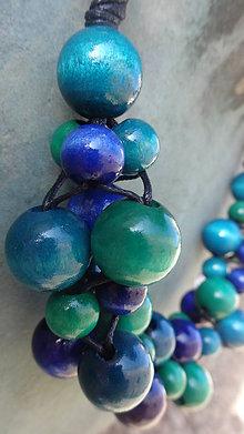 Náhrdelníky - Blueberry - veľ.M - 6846123_