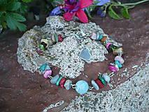 - náramok z rôznych druhov minerálov - 6846225_