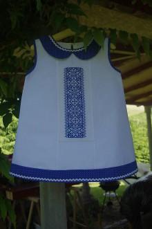 Detské oblečenie - Detské vyšívané šatočky - 6843882_