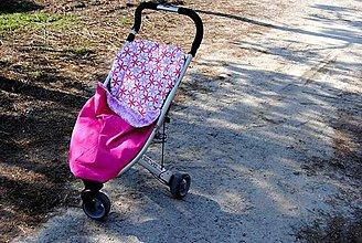 Detské súpravy - Deka do kočíka s úchytom - 6848053_