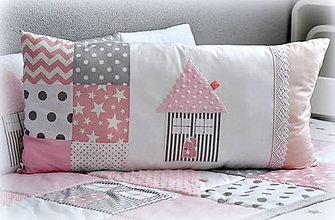 Textil - Veľký vankúš z kolekcie Basic 60x30cm - 6848954_
