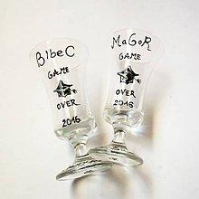 Nádoby - Maľované poháre k promócii - Mgr/Bc - 6847498_
