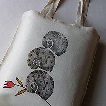Nákupné tašky - NA TULIPÁNKU - taška nákupní - 6848874_
