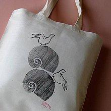 Nákupné tašky - PTÁČKOVÁ - taška nákupní - 6848964_