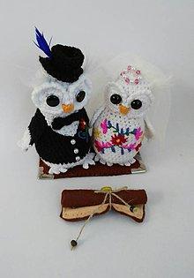 Darčeky pre svadobčanov - Svadobný pár - \