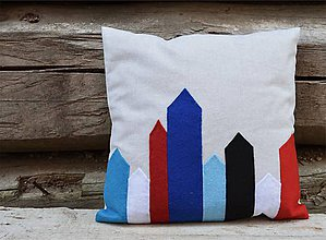 Úžitkový textil - vankúš Folk -House collection - 6851830_