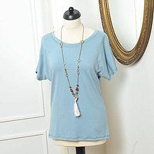 Tričká - Želám si pekné basic tričko - rôzne farby - 6851737_