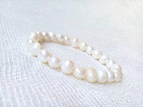 Náramky - River pearls bracelet - 6855156_