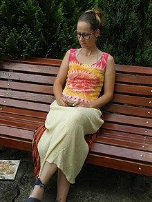 Šaty - deň na Sahare - 6856399_