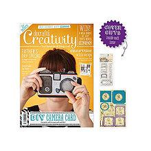 Návody a literatúra - Creativity časopis č. 70 May 2016 + razítka + výrezy Gorjuss - 6854133_