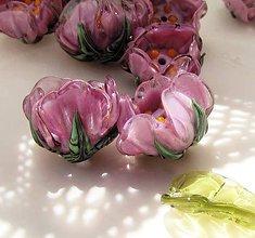 Materiál ručne robený - Vinutá skleněná perla