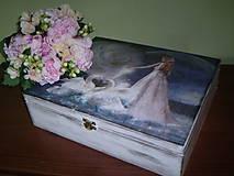 Krabičky - Krabička Pre nevestu... - 6854468_