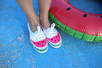 Obuv - WATERMELON shoes - 6856606_