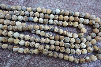 Minerály - Jaspis kalahari matný 6mm - 6853681_