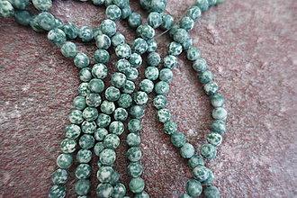 Minerály - Jadeit matný 6mm - 6853741_
