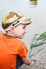 Detské čiapky - šiltovka malý rybár - 6855592_
