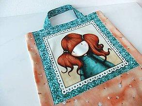 Detské tašky - Holčička Culíkatá - romantická, menší taška - 6856217_