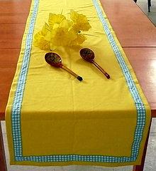 Úžitkový textil - Obrus žltý - 6856276_