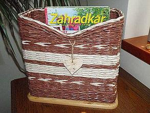 Dekorácie - Odkladací box na časopisy II. - 6856551_