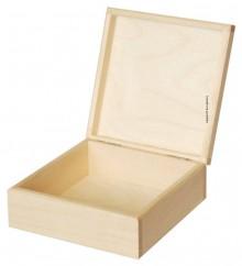 Polotovary - Krabička 16x16 cm masív, ihneď - 6855338_