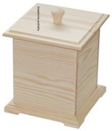 Polotovary - Krabička s vrchnákom masív - 6855674_