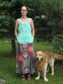 Šaty - návrat na pieskovisko - 6858925_