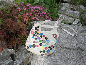 Veľké tašky - Taška jarná kvetinková - 6859202_