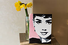 Obrazy - pani Hepburnova - 6858554_