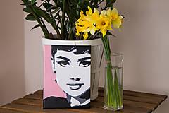 Obrazy - pani Hepburnova - 6858555_