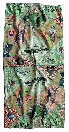 Šatky - Multifunkčná šatka Malá Fatra - 6858285_