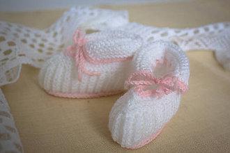 Topánočky - Kojenecké papučky - 6859226_