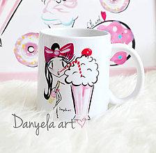 Nádoby - Lolli MILKSHAKE mug - 6857944_