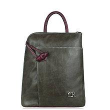 Batohy - Kožený ruksak Miriam