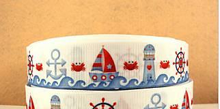 Rypsová stuha námornícka 25mm