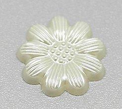 Galantéria - Ozdôbka kvetinka (balíček 20ks) - 6857666_