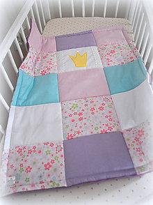 Textil - Deka Princezná 70x90cm, trojvrstvová - 6862750_