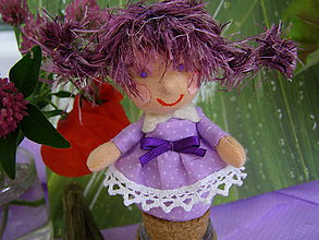 Dekorácie - levanduľová víla - 6861441_