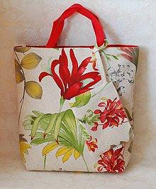 Veľké tašky - Tote Bag  Summer/Veľká taška spolu s taštičkou - 6860791_