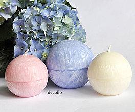 Svietidlá a sviečky - Rose Quartz & Serenity Blue - 6860622_