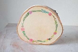 Dekorácie - Brezové maľované drievko - 6859888_