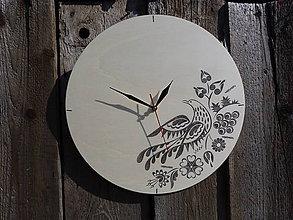 Hodiny - hodiny prírodné 44 - 6860895_