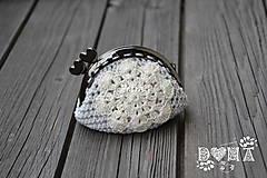 Peňaženky - Háčkovaná peňaženka - 6860346_