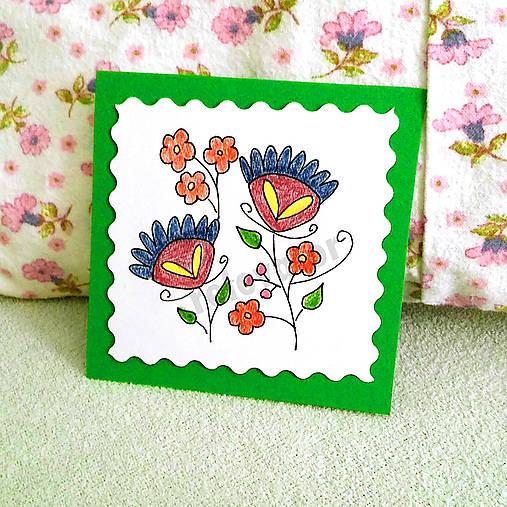 Mini folk pohľadnica 2