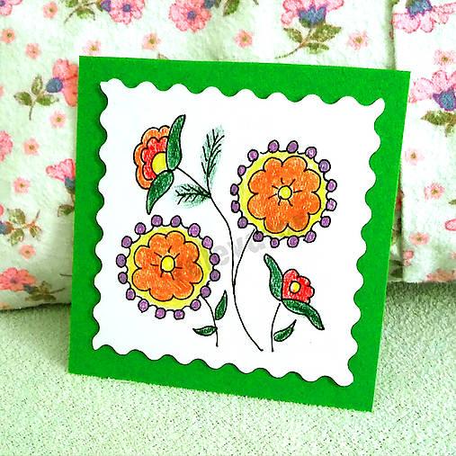 Mini folk pohľadnica 3