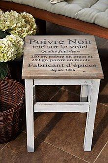 Nábytok - Stolík Poivre Noir č.2 - 6860857_
