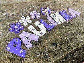 Tabuľky - 9cm písmenká...výroba na želanie - 6863812_