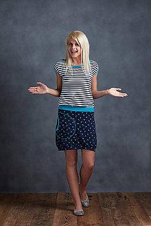 Šaty - Dress Turquoise Sailor - 6865860_